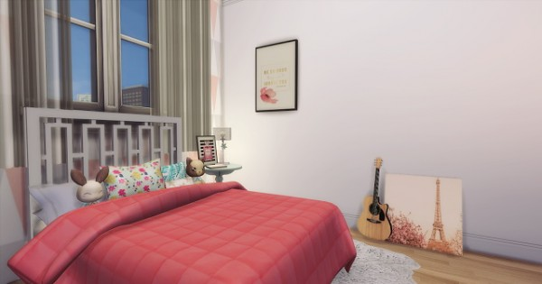 Mony Sims: Reforming Friends Apartment in the City # 1 Cute Pinterest Room!