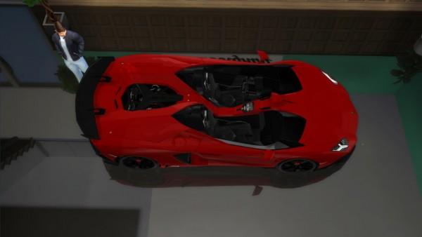 Lory Sims: Lamborghini Aventador J