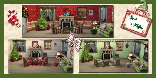 Alelore Sims Blog: Xmas set