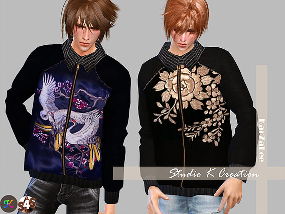 Studio K Creation: Giruto16 EMB Sweater