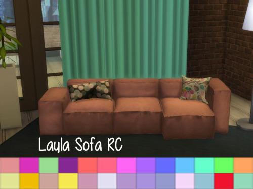 Chillis Sims: Layla Sofa RC