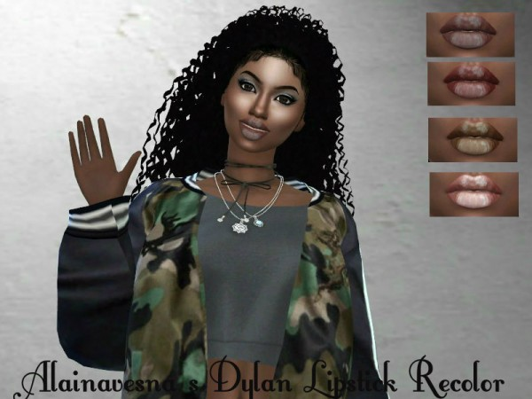 Teenageeaglerunner: Dylan lipstick recolor