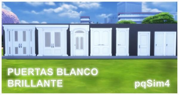PQSims4: Bright White Doors
