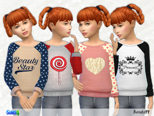 The Sims Resource: S77 girl 18 by Sonata77