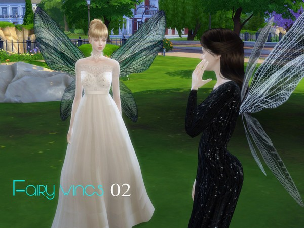 The Sims Resource Fairy Wings 02 By S Club Sims 4 Downloads