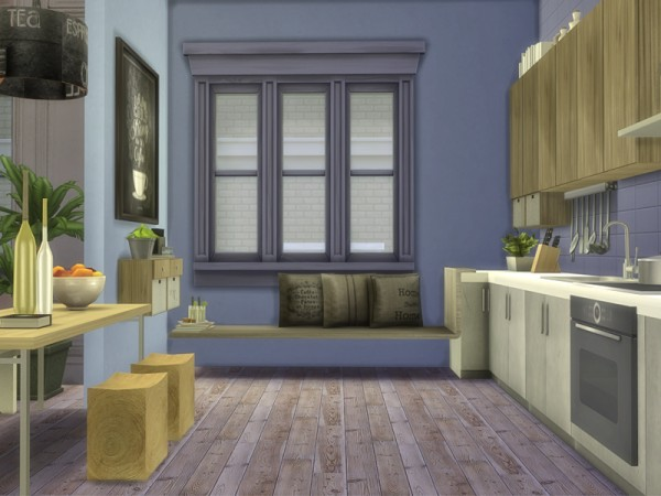The Sims Resource: My First Apartment Kitchen by Nikadema • Sims 4 ...