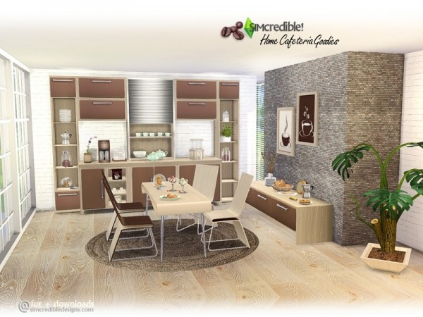 The Sims Resource: Home Cafeteria   Goodies by SIMcredible