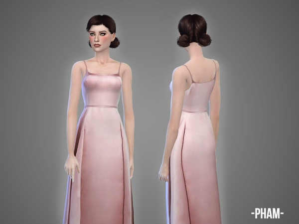 The Sims Resource: Pham gown by April