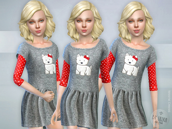 The Sims Resource: Westie Dress by lillka