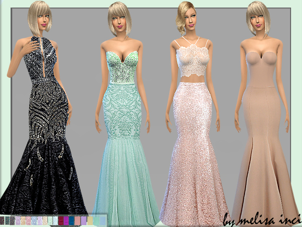 The Sims Resource: Mermaid Skirt by Melisa Inci