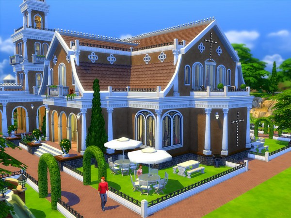 The Sims Resource: St Marys Church by Sharon337