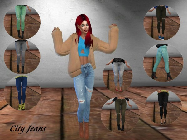 Teenageeaglerunner: City Jeans
