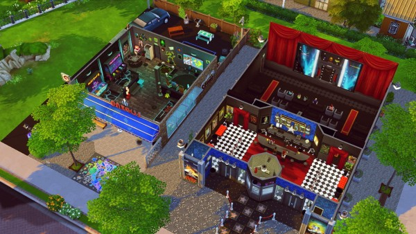 Jenba Sims: Midtown Cinema and Arcade