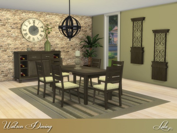The Sims Resource: Watson Dining by Lulu265