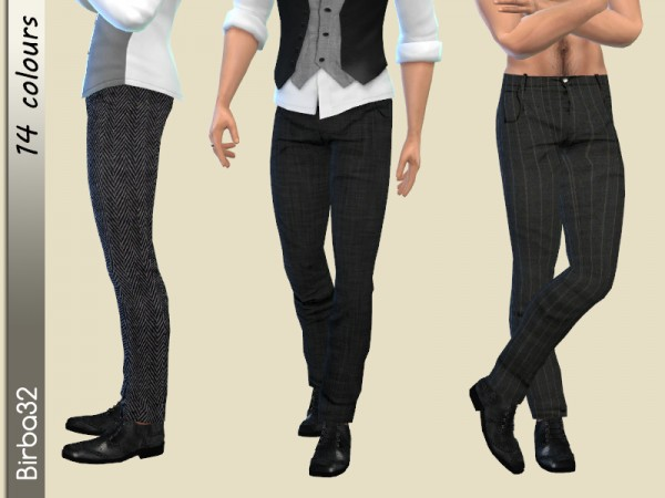 The Sims Resource: Classic Trousers Man by Birba32