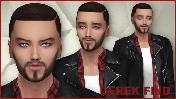 PQSims4: Derek Find sims models