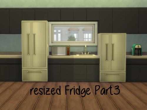 Chillis Sims: Resized Fridge Part3