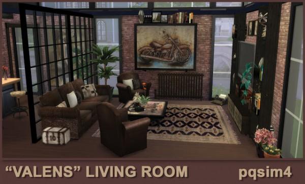 PQSims4: Valens livingroom