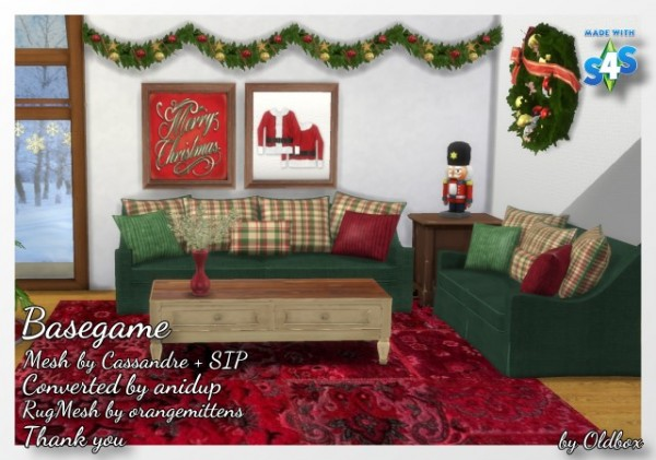 All4Sims: Christmas room by 	Oldbox
