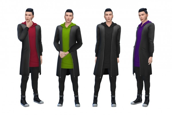 Deelitefulsimmer: Mens City Living Outfit recolor