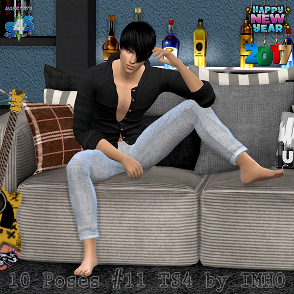 IMHO Sims 4: 10 Poses 11