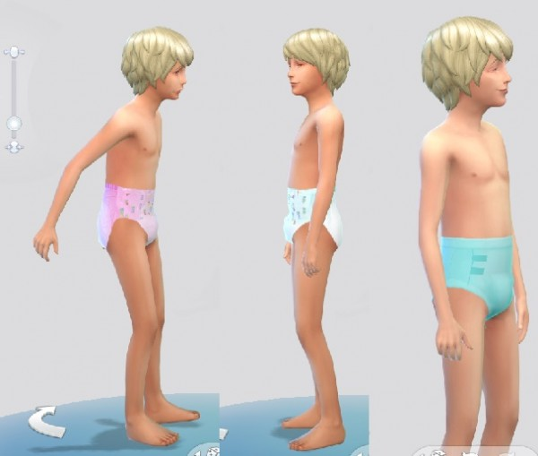 Mod The Sims Diapers For Children By Anoncrinkle Sims 4