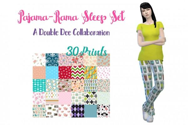Deelitefulsimmer: Paja Rama sleep set