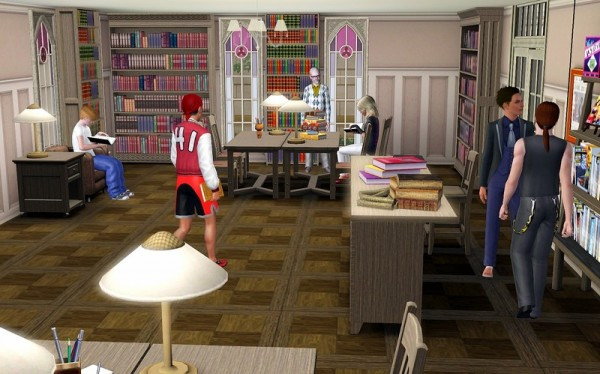 Ihelen Sims: River Library