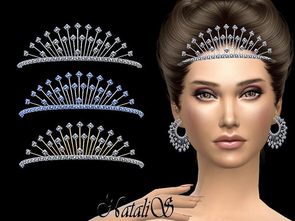 The Sims Resource: Winter crystals tiara by NataliS