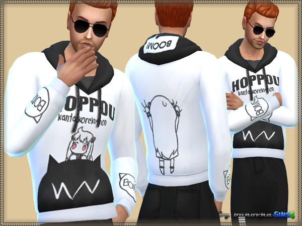 The Sims Resource: Hoodie Hoppou by Bukovka