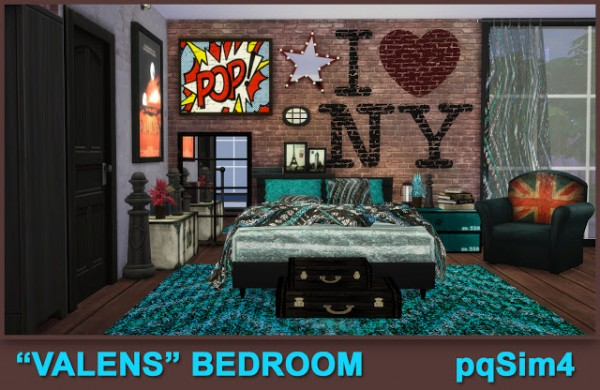 PQSims4: Valens bedroom