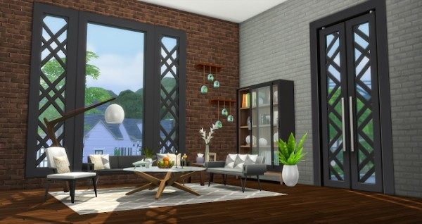 Simsational designs: City Living Window and Door Addons