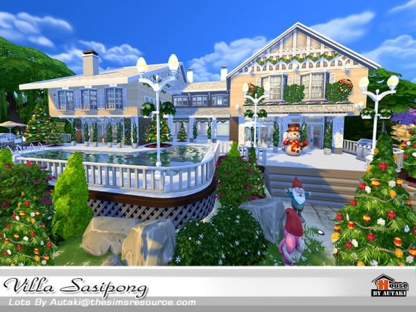 The Sims Resource: Villa Sasipong by Autaki