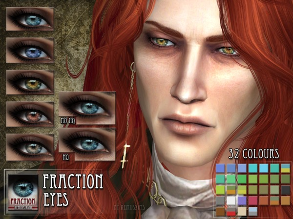 The Sims Resource Fraction Eyes By Remus Sirion Sims 4