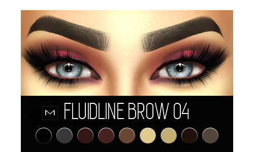 MAC cosimetics: Fluidline Brow 04