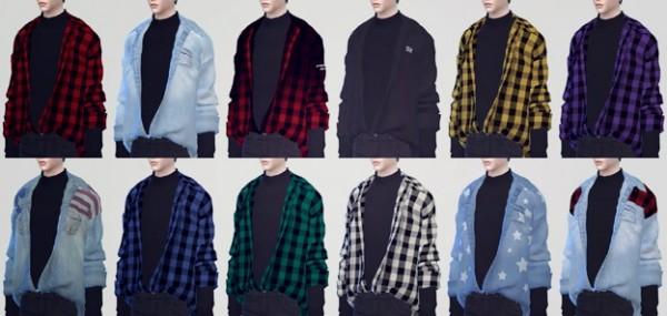 kk sims: Tuck in Shirts