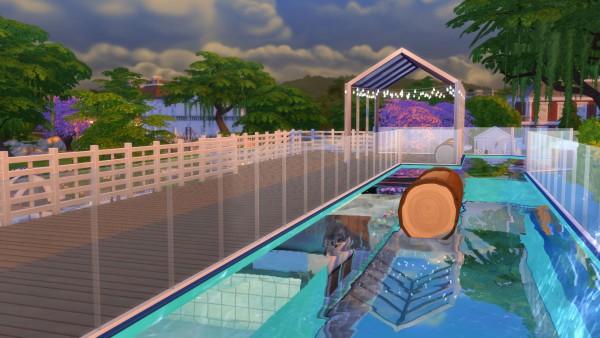 Mod The Sims: Log Falls Park by Snowhaze