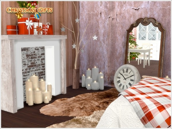 The Sims Resource: Christmas Bedroom by Severinka • Sims 4 ...