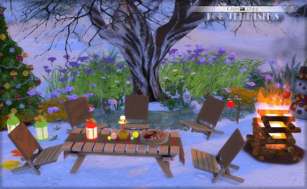 Jenni Sims: Set christmas outdoor by Faby