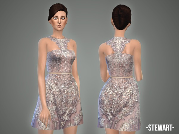 The Sims Resource: Stewart   dress by April