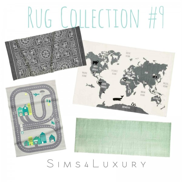 Sims4Luxury: Rug Collection 9