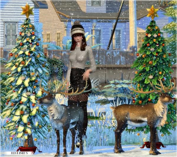 Jenni Sims: Christmas Holiday   reindeer,  Christmas Tree part 3