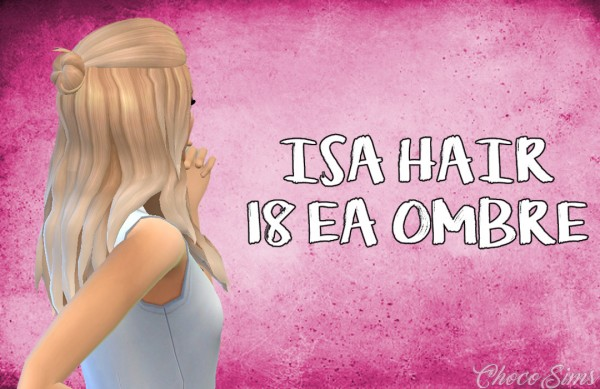 Choco Sims: Isa hair