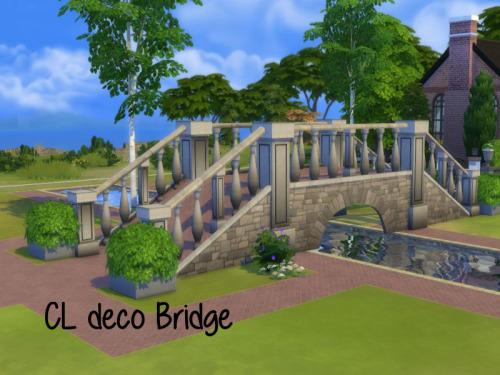 Chillis Sims: CL deco bridge