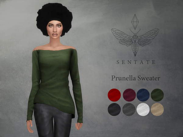 The Sims Resource: Prunella Sweater by Sentate