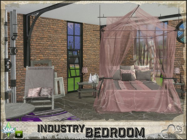 The Sims Resource: Bedroom Industry by BuffSumm