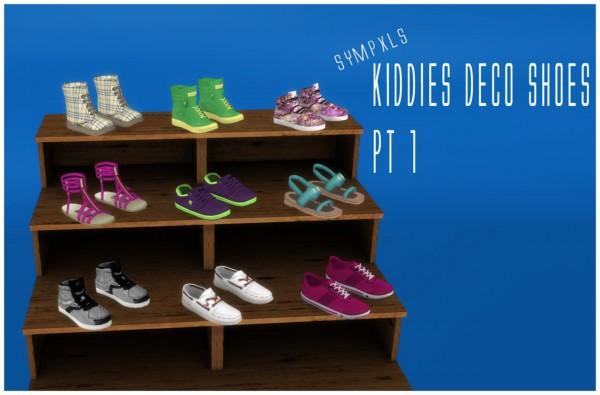Simsworkshop: Kids deco shoes 1 by Sympxls