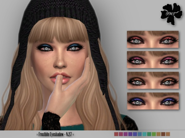 The Sims Resource: Frostbite Eyeshadow N.27 by Izzie Mc Fire