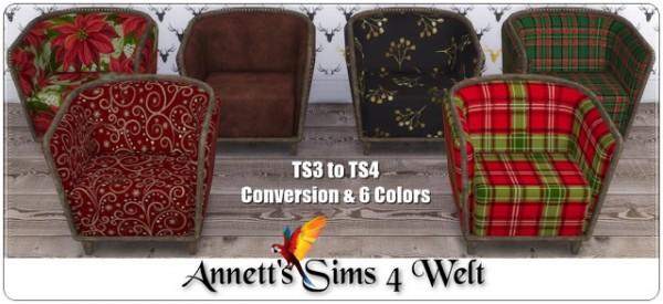 Annett`s Sims 4 Welt: Christmas Armchairs