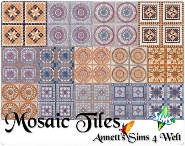 Annett`s Sims 4 Welt: Mosaic tiles